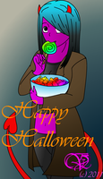 Happy Halloween by emoturtlefrk
