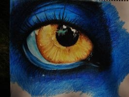 Avatar Eye - Crayola Crayon by animelover4400