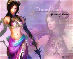 Diao Chan - Queen of Dance by SheaButter