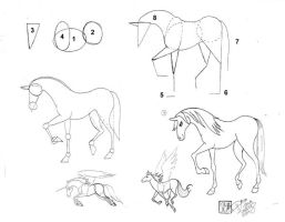 Draw a Horse by Diana-Huang