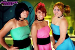 Powerpuff girls by Sayaliz