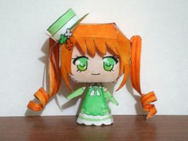 Erin Papercraft by drawwithme15