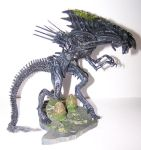 Alien Figurines - Walkin Alien by Gracies-Stock
