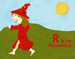 R is for Rincewind by whosname