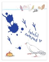 hatoful boyfriend stationary by tea-and-dreams