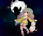 Bee and PuppyCat by Maddzee