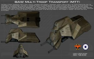 BAW Multi-Troop Transport [MTT] ortho [Updated] by unusualsuspex