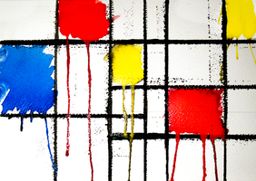 De Stijl Watercolours by BenMRHall