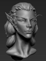 Elf Female by overmind81