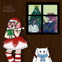 A very meguca Christmas by Remy-Productions