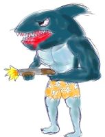 Killer Shark, Colored by TVJunkie2342