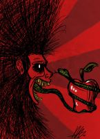 Slither Tongue of Eve by Kiru100