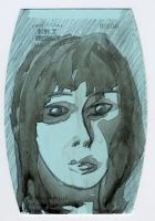 Face 1 - Inkwash by GoingSane