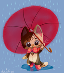 Let's play in the Rain by Jazzekat