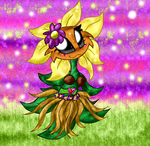 Hula Primal Sunflower by Fun-Time-Is-Party