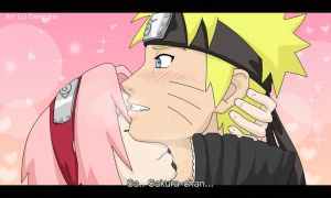 NaruSaku- First Time by Denychie