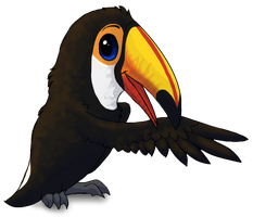 Toco Toucan by Starrypoke