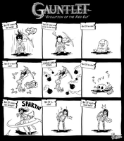 Gaunlet Parody - Evolution of the Red Elf by DavyWagnarok