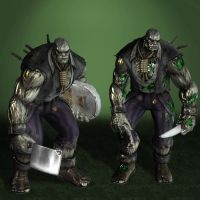 Injustice Gods Among Us Solomon Grundy by ArmachamCorp