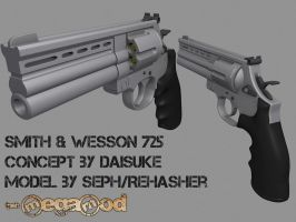 Smith and Wesson 725 - MegaMod by Rehasher