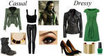 Marvel: Loki Inspired Outfits by RockerChic21