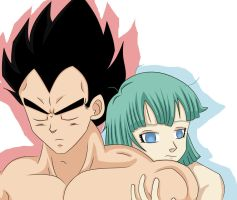 Vegeta and Bulma- Dont go by Beastwithaddittude
