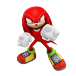 Knuckles Strikes Pose by Nibroc-Rock