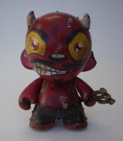 Devil mini munny by BiLBetsOviC
