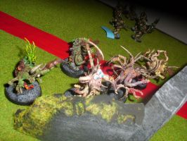nurgle chaos spawns 2 by skincoffin