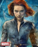 Marvel - The Avengers - Black Widow by thephoenixprod