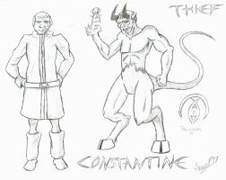 Thief FA - Constantine by Cross-Kaiser
