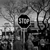 stop sign Lemon Festival by myoung4828