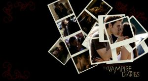 Stefan and Elena Wallpaper by Aryens