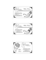 Chantilly Lace Business Cards by rainbowpanda101
