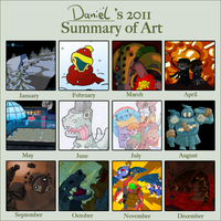2011 Art Meme by Filecreation