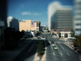 Rosslyn tilt-shift by cheyrek
