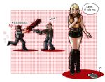 Why Leon Was Killed By The Chainsaw? by AngelJasiel
