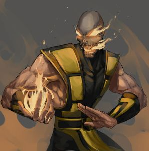 .Commish::: Scorpion-Lover. by MadiBlitz