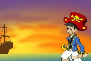 A Pirate's Life For Me by jlechuga