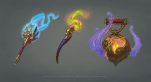 Umoir Wands and Offhand by any-s-kill