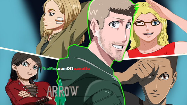 The Team ~ Arrow by TheMuseumOfJeanette