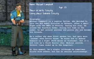 Michael Campbell's Bio by Miel1994