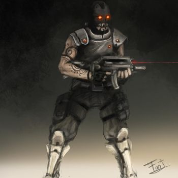 future soldier concept art by FonteArt
