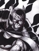 Batman Sketch 2010 by Kenpudiosaki