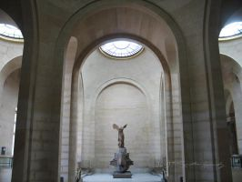 Nike at the Louvre by BlackCarrionRose