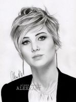 Jennifer Lawrence (aleexart) by aleexart