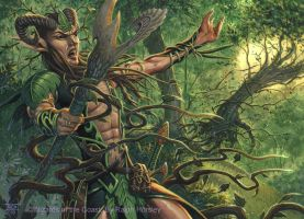 Elvish Branchbender by RalphHorsley