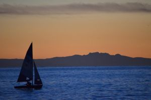 sailboat by Sbojnik