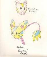 Fakemon- Static Cling by dragonkitteh