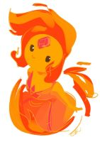 Flame Princess by batlesbo